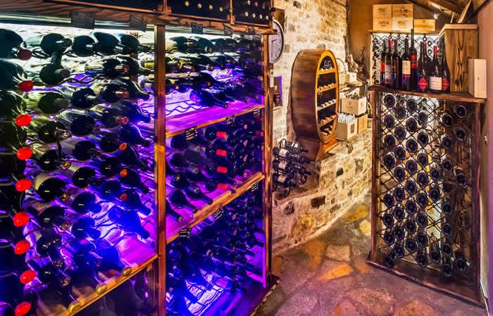 Wine Cellar, Kanela & Garyfallo Restaurant, Vitsa, Zagorochoria, Greece